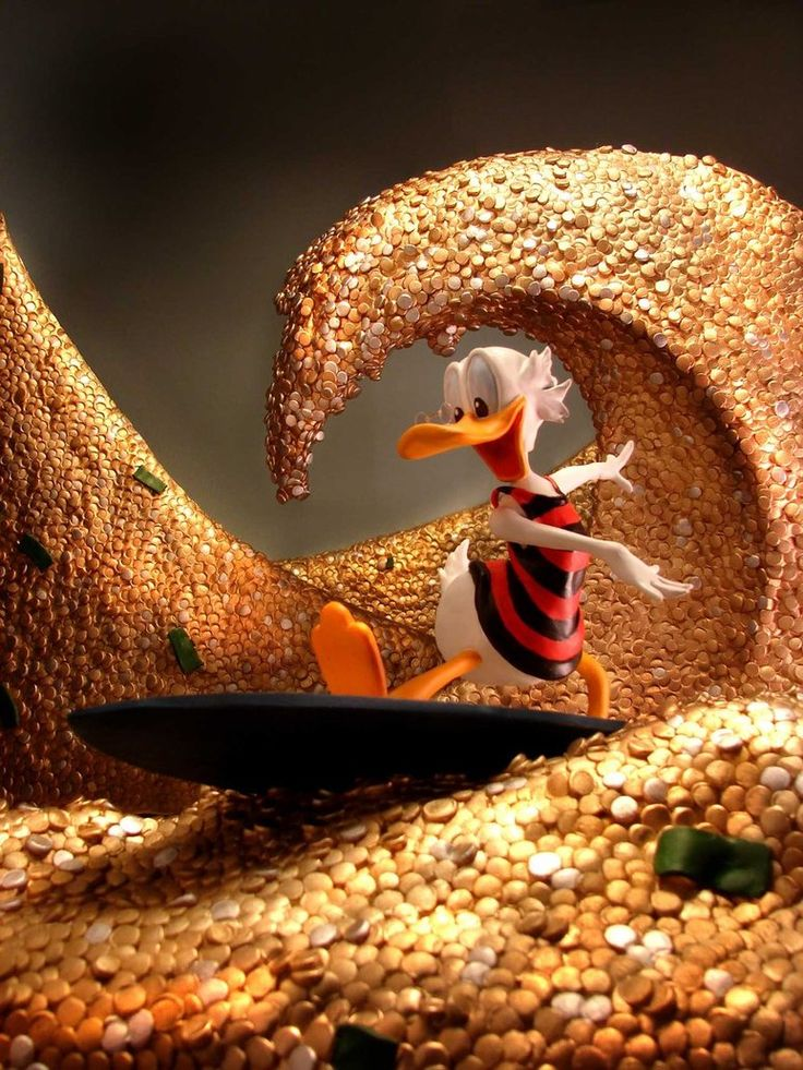 Scrooge McDuck by ~sculptwerks on deviantART
