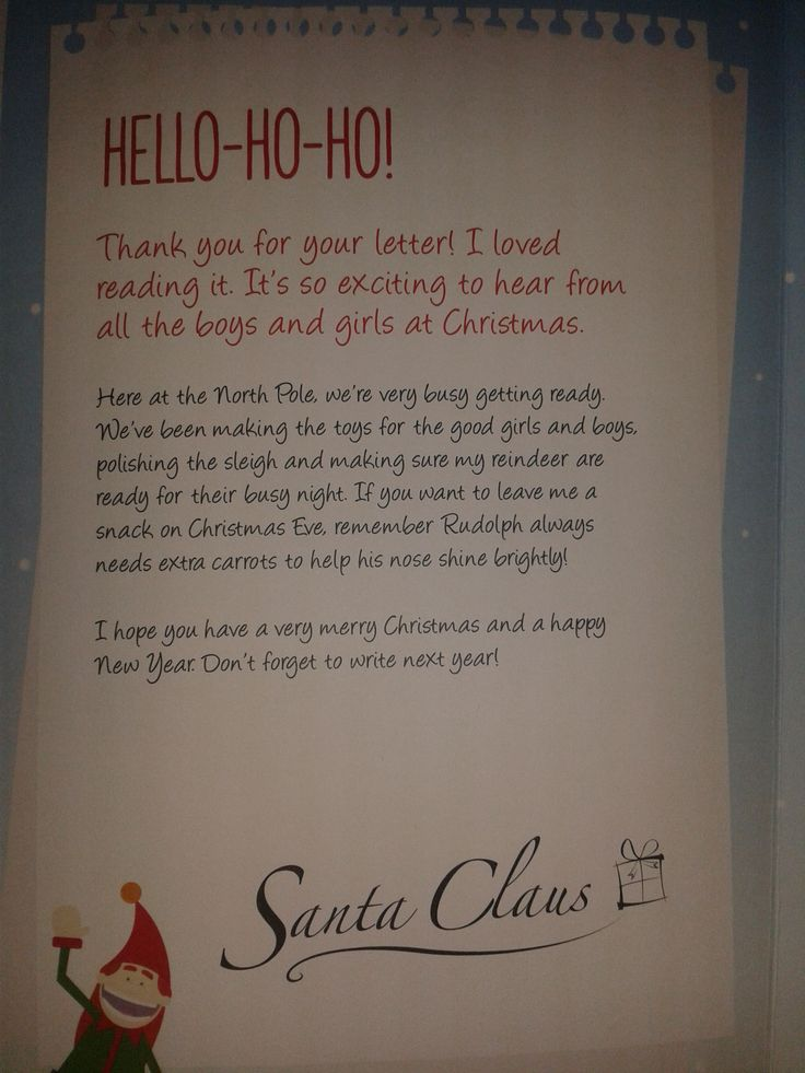 Receiving a letter from Santa is worth more than money can buy...when you are 6 years old! #CKCrackingChristmas