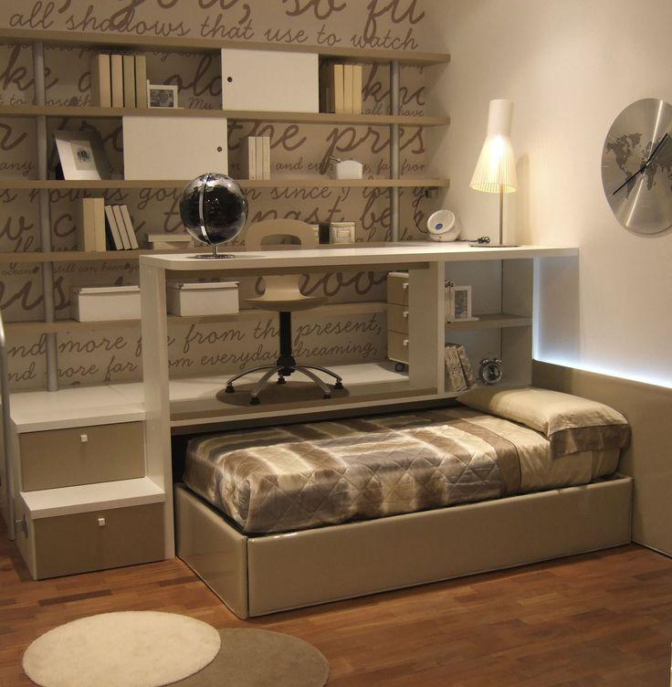 Chambre d'enfant mixte - ARCAMAGICA 2 - Sangiorgio Mobili