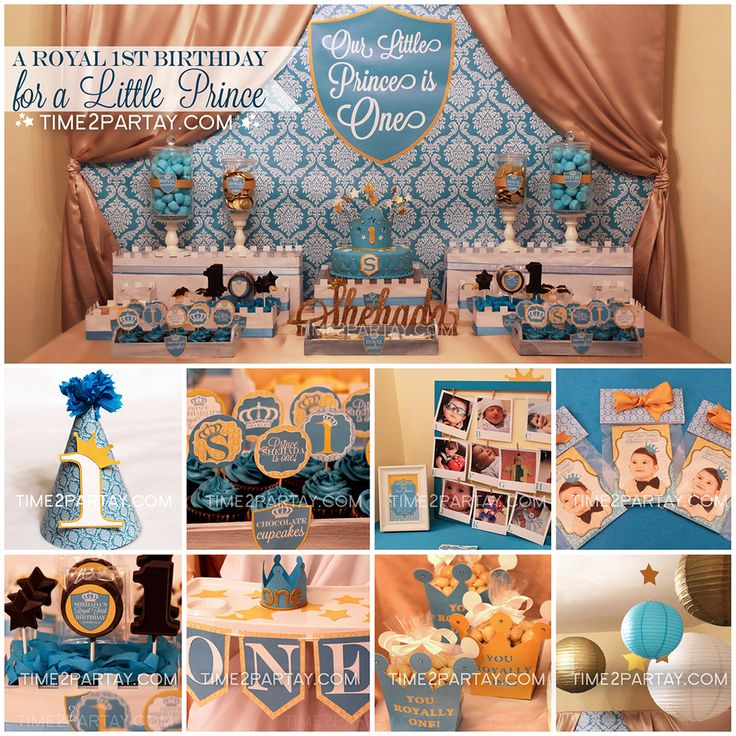 Prince Birthday Party Ideas | Photo 3 of 34 | Catch My Party