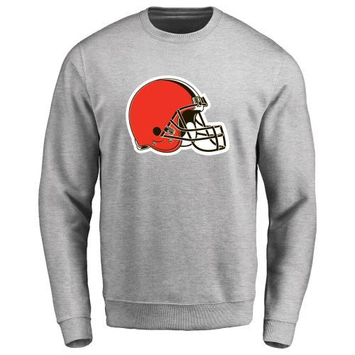 Men's Cleveland Browns Design Your Own Crewneck Sweatshirt - $51.99