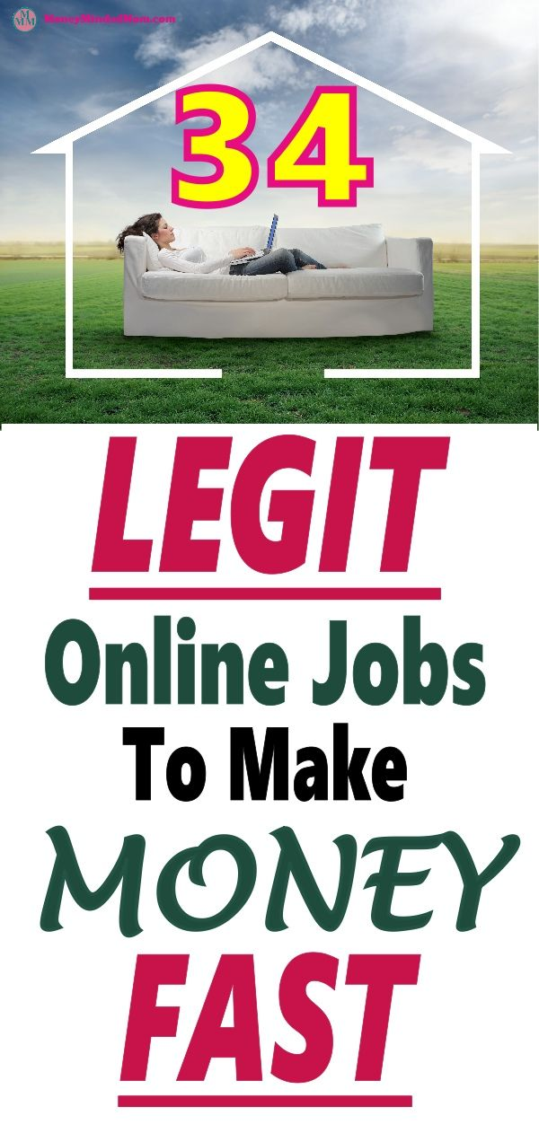 34 Legit Online Jobs To Try In 2020 To Make Money From Home Fast
