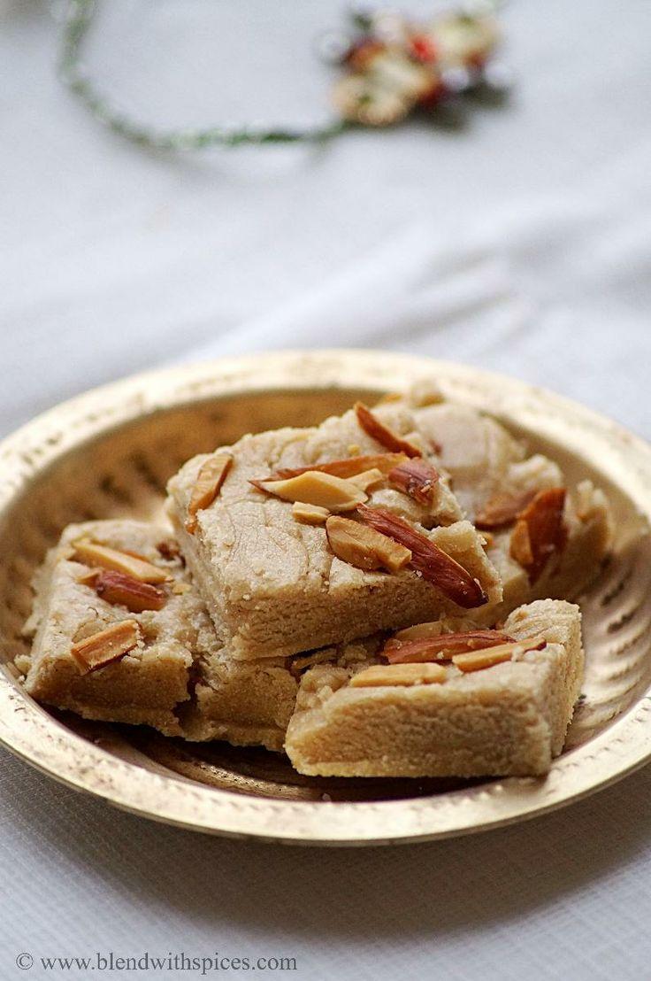 'Rajgira [Amaranth] Flour Burfi' Recipe - Indian Cuisine