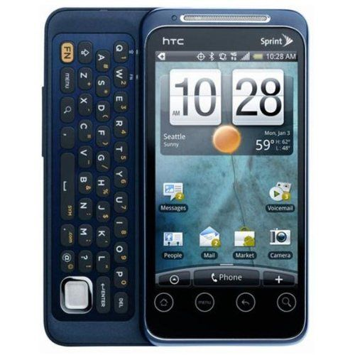 HTC EVO Shift 4G Wimax APA 7373 No Contract Sprint Cell Phone