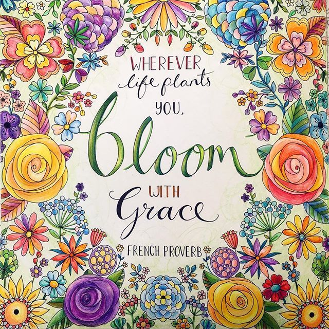 177 Best Joyous Blooms To Color Images Coloring Books