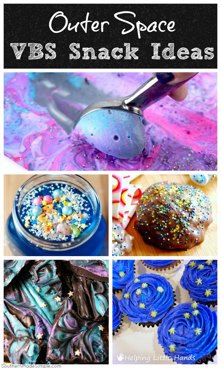 Outer Space Snack Ideas – Galactic Starveyors VBS