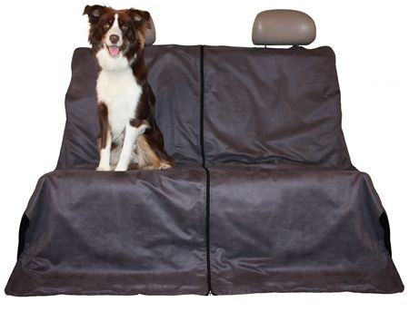 Our Canine car Seat Protector is a 4-in-1 multi-purpose car seat protector. Can be used a full rear bench protector, full rear hammock, half hammock, or trunk liner. from Canine Friendly