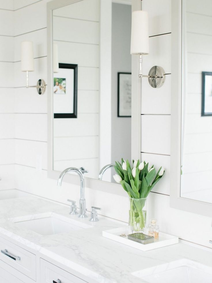 7 Bathroom Organization Tips That Will Change Your Morning Routine via the INSPIRED home
