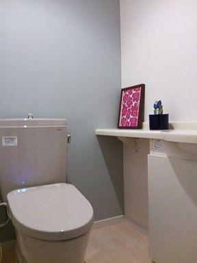 【おうち  トイレのリフォーム 壁紙も・・・】 : pilvi*villa  雲~羊毛 北欧雑貨