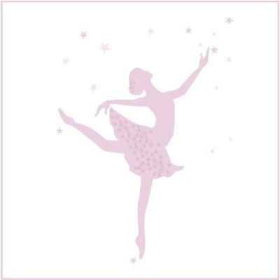 Stickers danseuse etoile danse pinterest silhouettes - Dessin d une danseuse ...