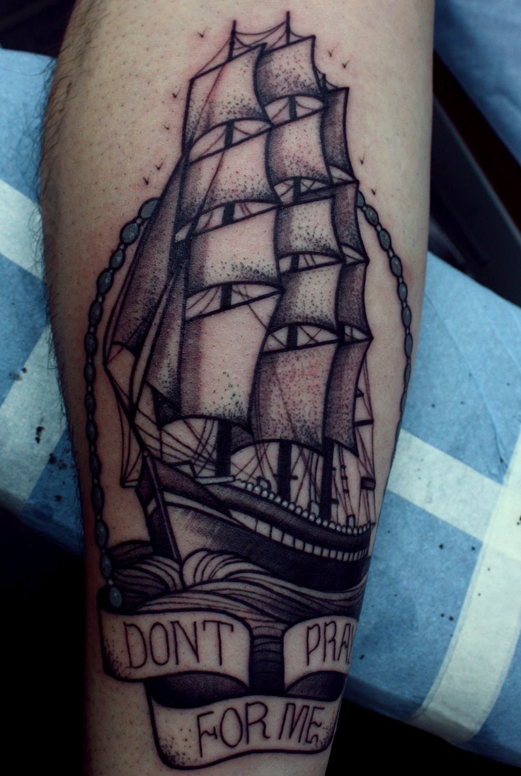 The 25+ best Pirate ship hand tattoo ideas on Pinterest | Pirate ...
