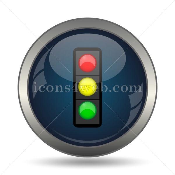 Traffic Light Icon For Website Traffic Light Stock Image In 2020 Website Icons Light Icon Traffic Light