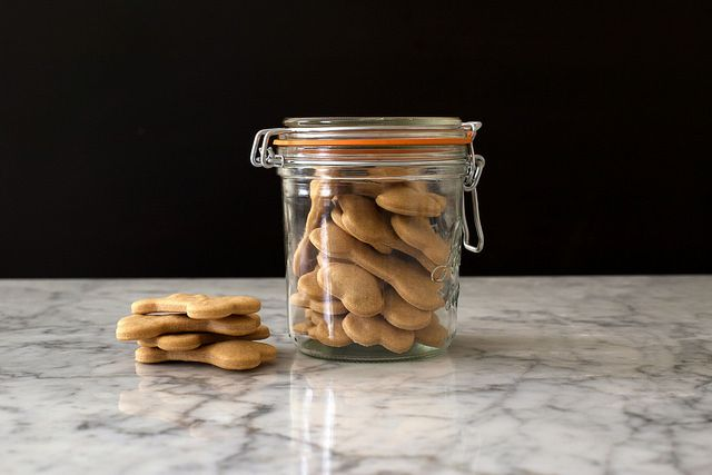 Homemade dog biscuits by Photosfood52, via Flickr