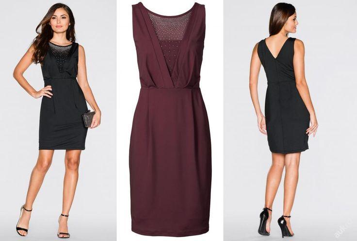 * NOVÉ  ,,BODY FLIRT krásné šaty s kamínky vel.36/38 - 2 barvy  :: AVENTE  ...móda s nápadem