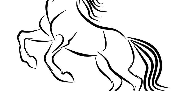 Menakjubkan 27+ Gambar Kuda Kartun Hitam Putih di 2020 ...