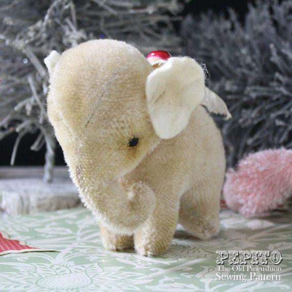 NEW Pepito elephant EPattern & sewing plus by theoldpincushion, $10.00 - Eeeeee! it's so cute!