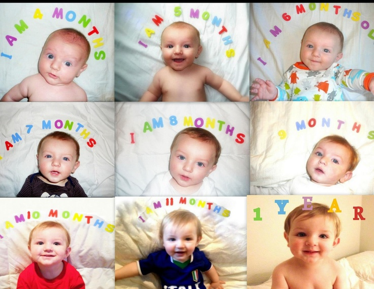 The 25+ best Baby photo collages ideas on Pinterest   First year ...