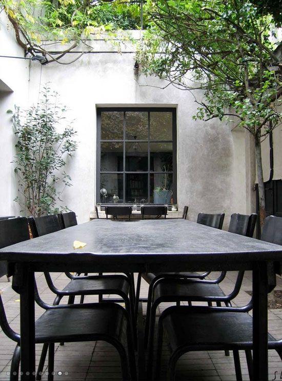 patio styled black
