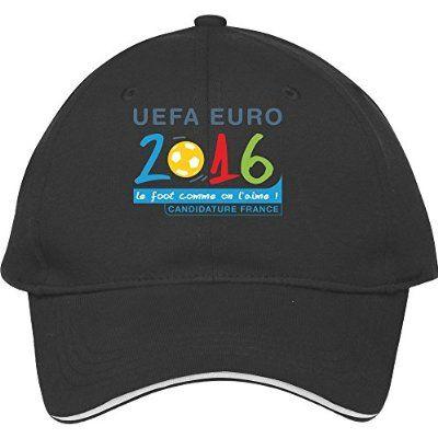 UEFA Euro 2016 Logo Baseball Cap - http://soccershop.nationalanthemsworldcup2014.com/dabu-uefa-euro-2016-logo-baseball-cap/