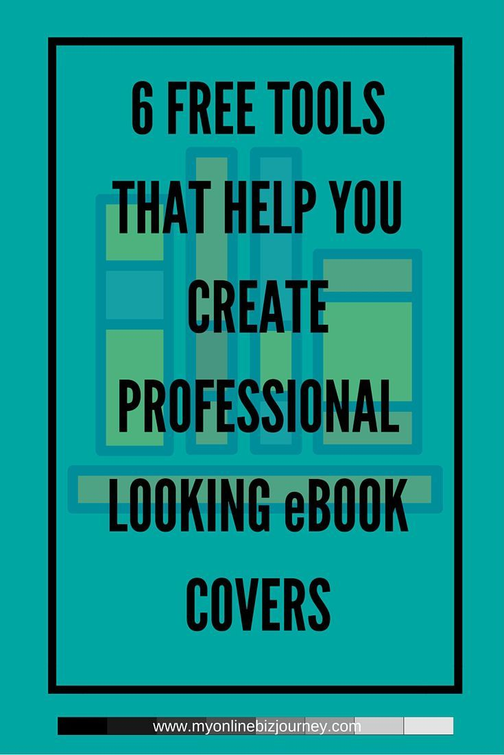 While you could get someone on Fiverr or Elance or 99designs to design a truly captivating book cover for you, you would be surprised at what you could do yourself with completely free resources.  I have found these 6 tools for creating eBook covers useful in my publishing endeavors and today I want to share them with you.