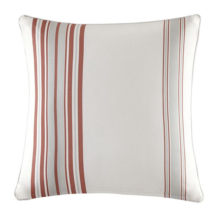 Madison Park 3M Scotchgard Outdoor Medium Throw Pillow, Orange