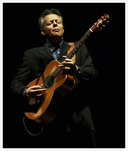 Tommy Emmanuel, he is both critically acclaimed and understated at the same time.