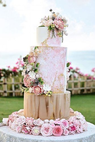 woodland themed wedding cakes tall romantic with pink roses lenovelle cake bali via instagram