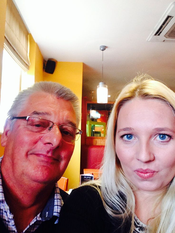 Selfie with dad @ Taybarns. Don't know what I'd do without him! #fathersday #hero #inspiration #pout #family #day44 #100happydays