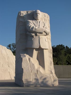 Martin Luther King Memorial 2013