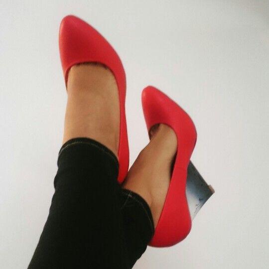 Tacones rojos!!!