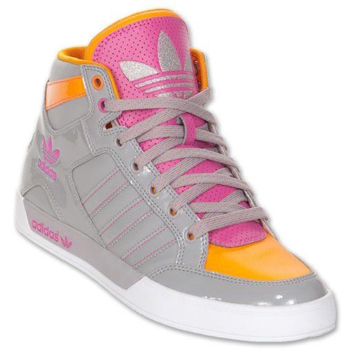 Women s adidas Originals Hardcourt Hi Casual Shoes  6119c2ddc