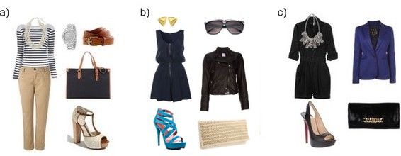 Fashion Style Quiz - Which outfit appeals to you?