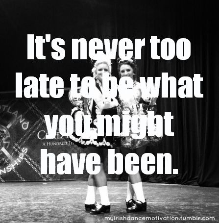 Irish dance motivation