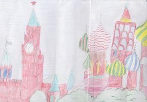 Детские рисунки с тегом Кремль | Юный Художник – детские рисунки и конкурсы