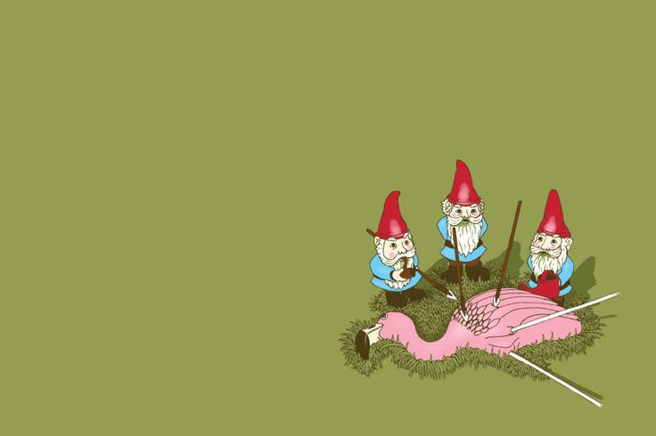 gnomes Wallpaper HD Wallpaper