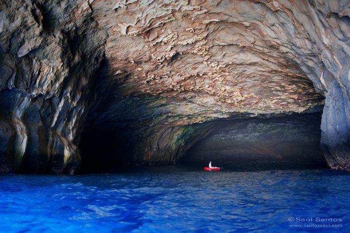 """En la isla de #LaPalma no podia faltar la """"Cueva Bonita"""", digna de la belleza de estos teritorios..."""