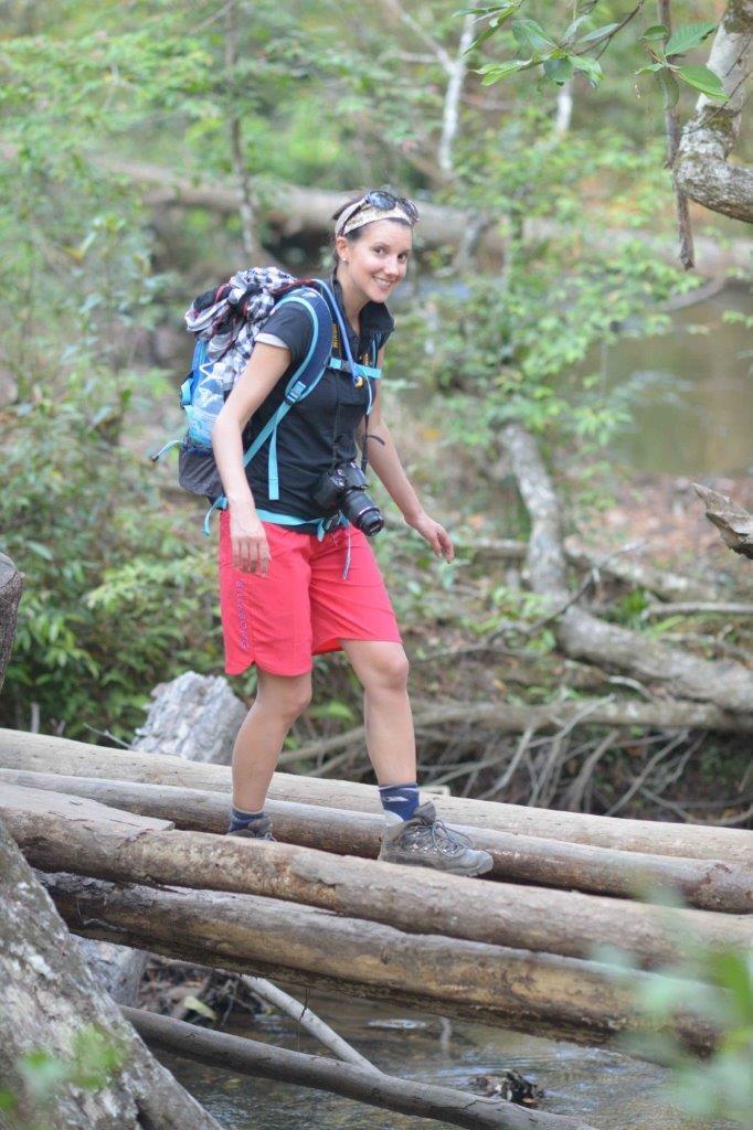 hiking in Dalat. Central Highlands of Vietnam