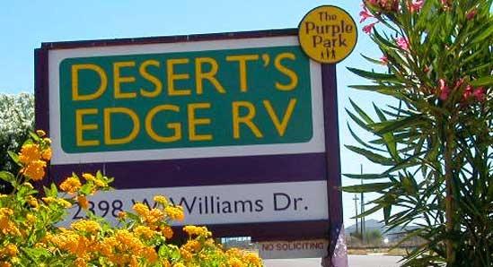 Desert S Edge Rv Phoenix Az Extended Stay Amp Overnight