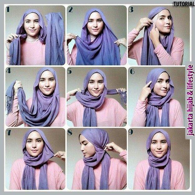 tutorial beauty hijab