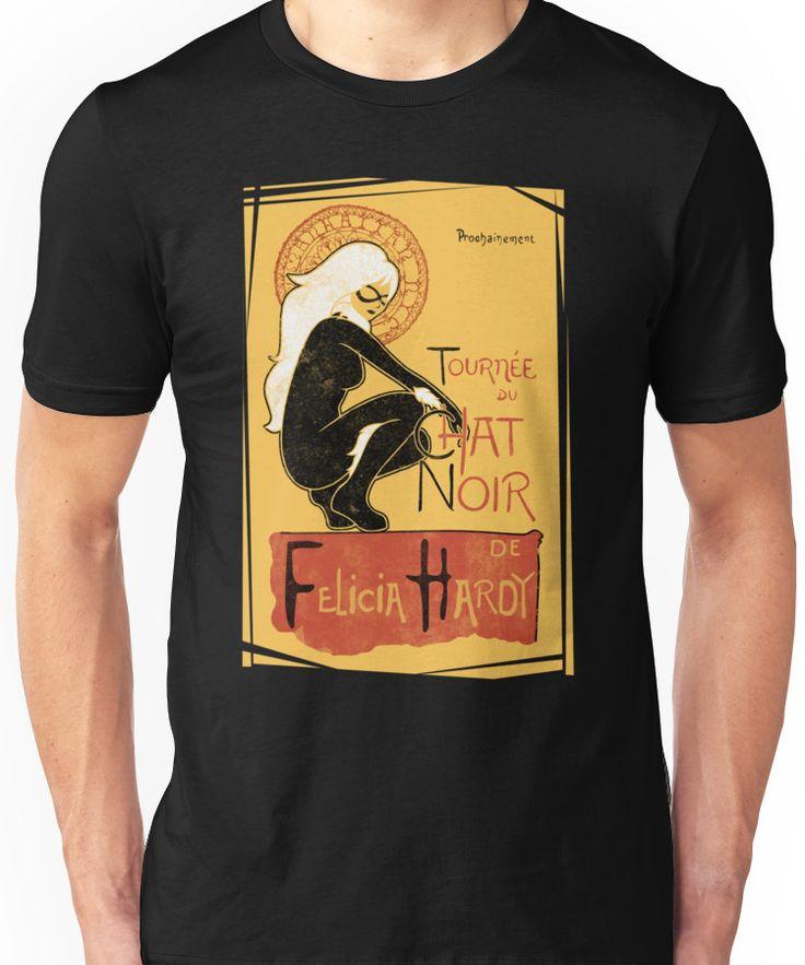 le chat noir kiki tee shirt