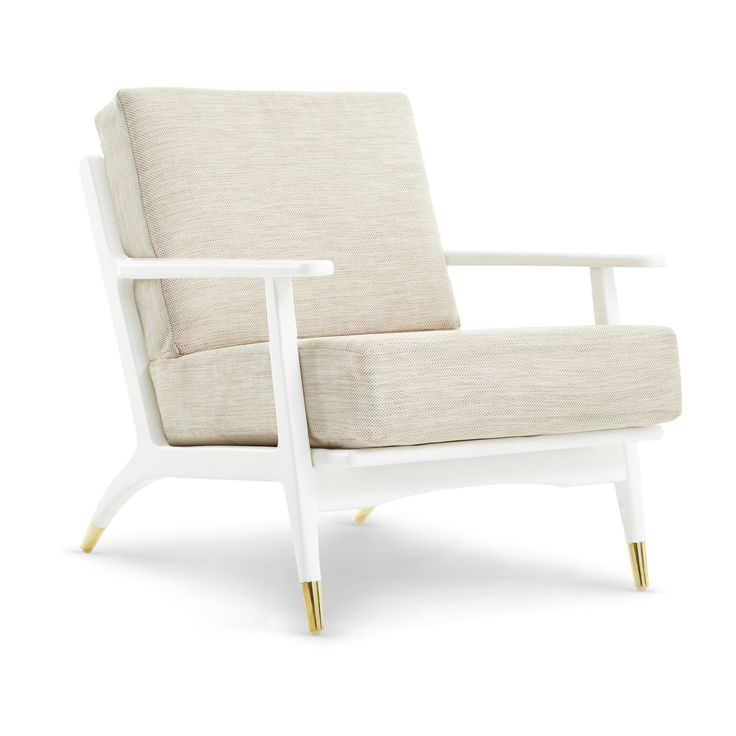 Hart Lounge Chair (Covers sold separately), White - Bungalow 5