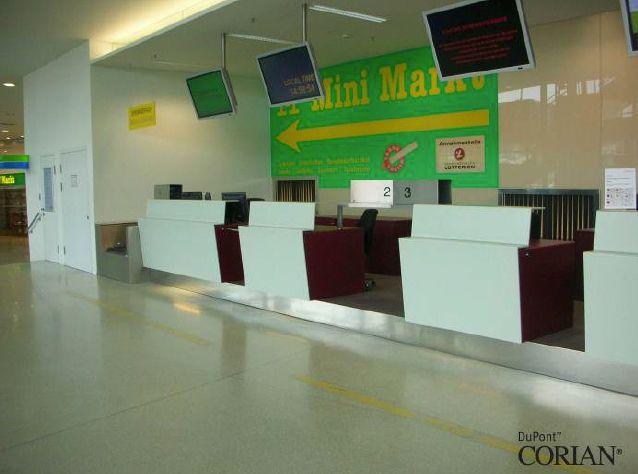 Bespoke Reception Counters | ExhibitCNC