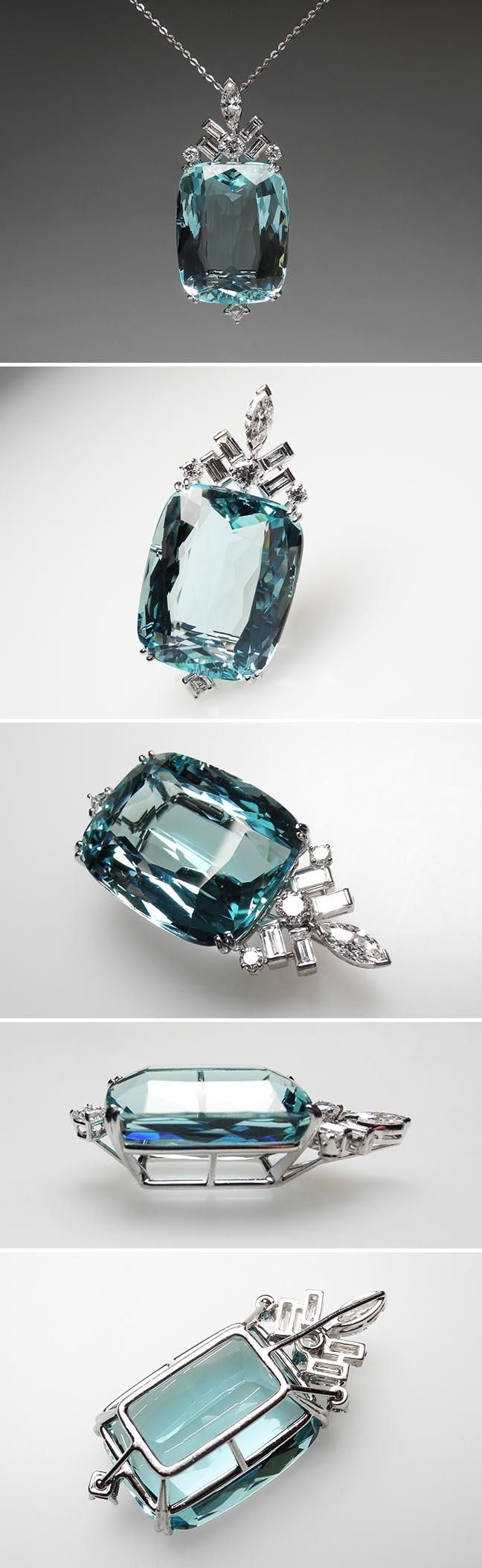 Aquamarine, beautiful... I think this is Miss Myah's birth stone