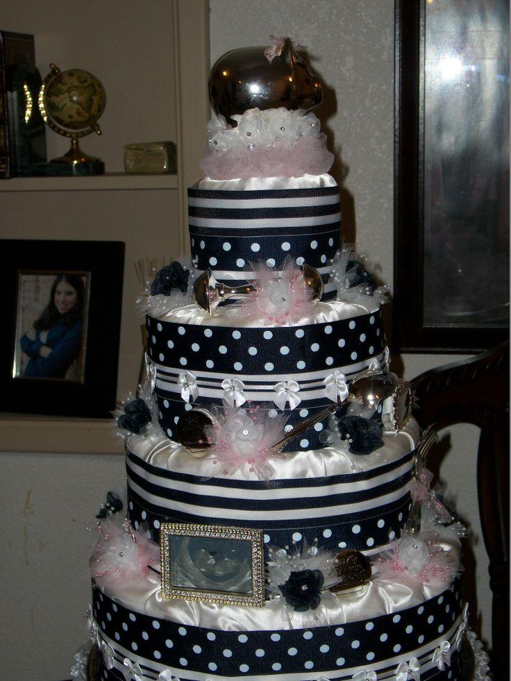 diaper cake for our Princess