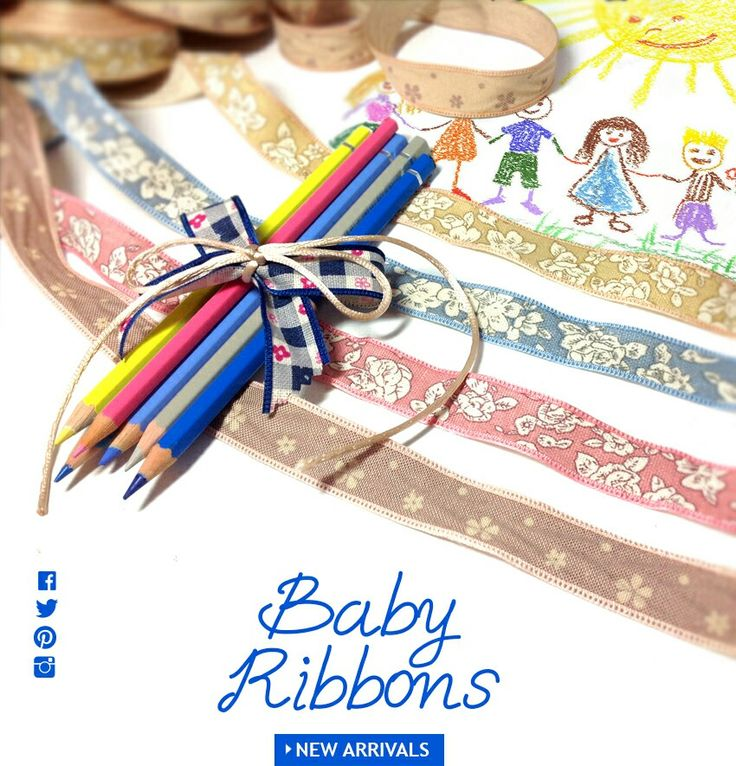 Baby ribbons New collection fw2015 jewelry and fashion materials