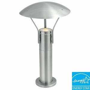 Eglo Roofus Outdoor Stainless Steel Post Light 20648A At The Home Depot $70