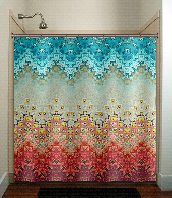 beautiful fire and ice gray turquoise shower curtain bathroom decor fabric kids bath window curtains panels valance bathmat by TablishedWorks on Etsy https://www.etsy.com/listing/252093289/beautiful-fire-and-ice-gray-turquoise