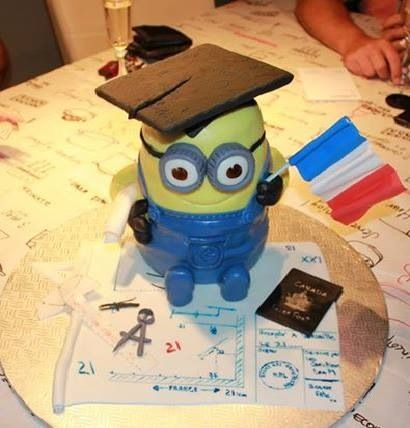 French,architect,minion cakes
