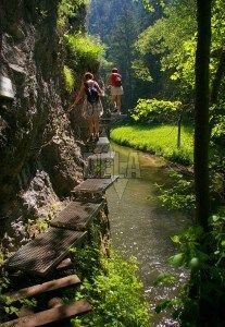 Slovenský raj (Slovak Paradise) - Turist centres, maps, photo-gallery, accommodation capaties - Slovenský raj (Slovak Paradise)