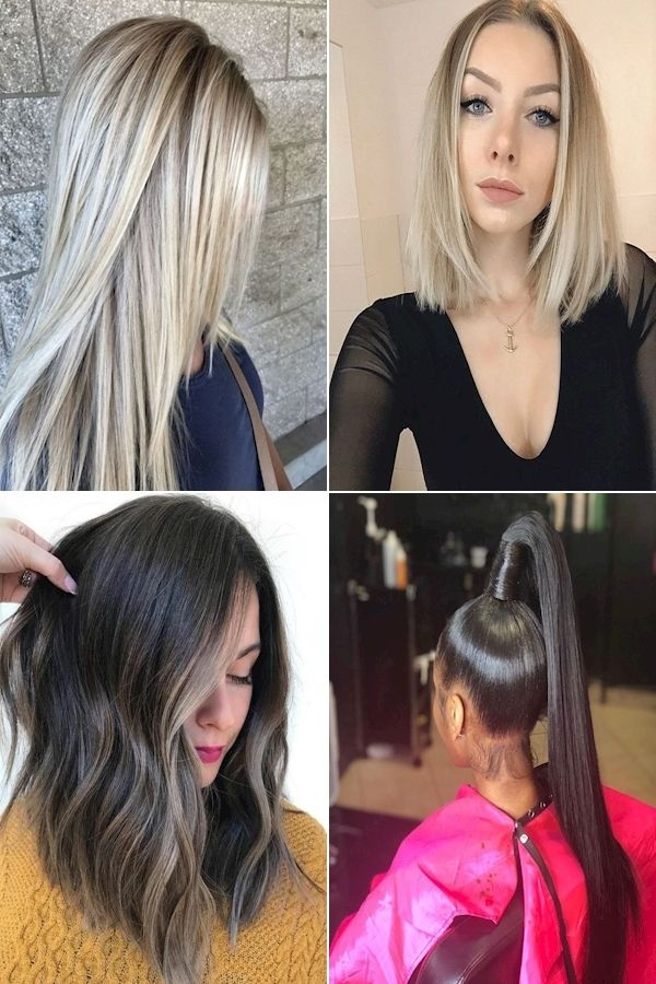 Ladies Hair Style Easy Hairstyles For Straight Hair At Home Short And Straight Hairstyles In 2020 Straight Hairstyles Hair Styles Easy Hairstyles